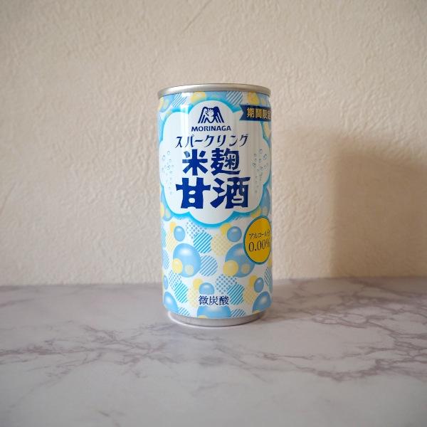 森永スパークリング米麹甘酒 サムネイル